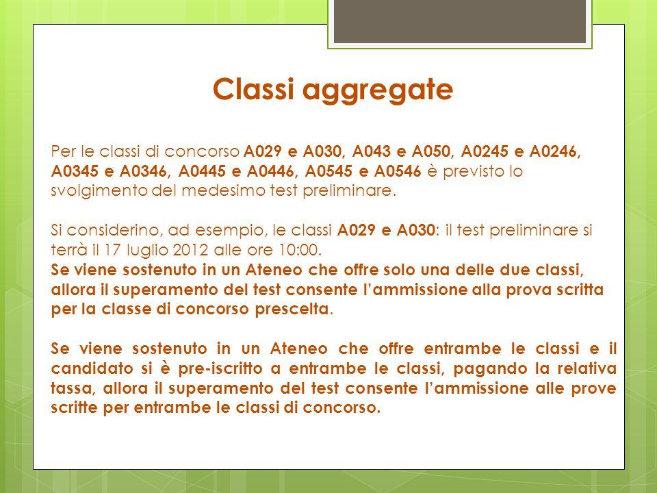 Classi aggregate