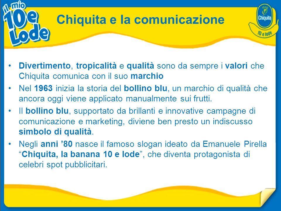 Chiquita e la comunicazione
