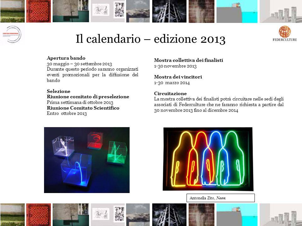 Il calendario – edizione 2013