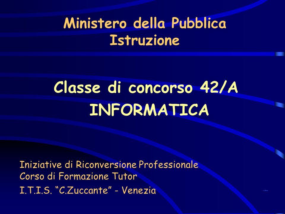 Ministero della Pubblica Istruzione