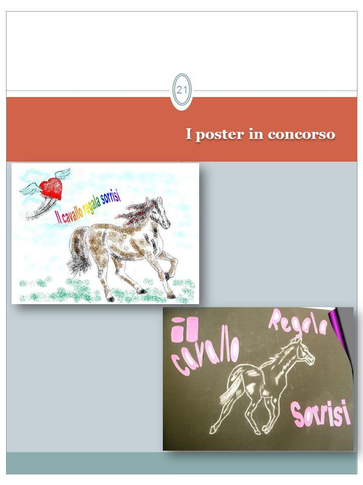 I poster in concorso