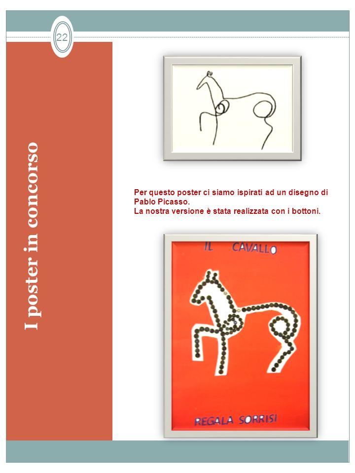 I poster in concorso Per questo poster ci siamo ispirati ad un disegno di Pablo Picasso.