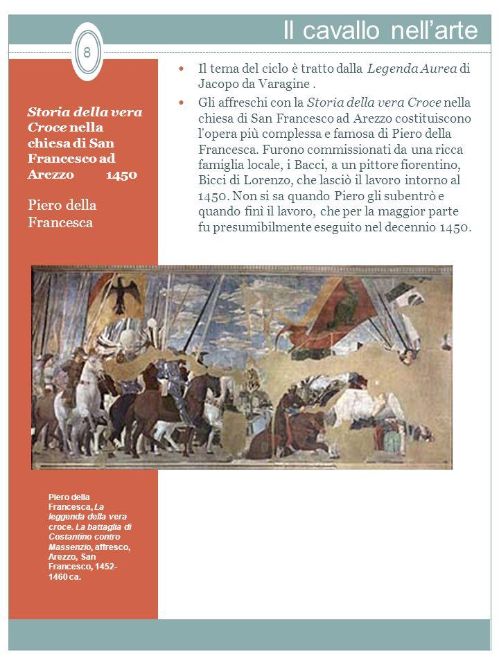Storia della vera Croce nella chiesa di San Francesco ad Arezzo 1450