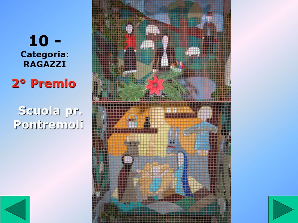 10 10 - Categoria: RAGAZZI 2° Premio Scuola pr. Pontremoli 10