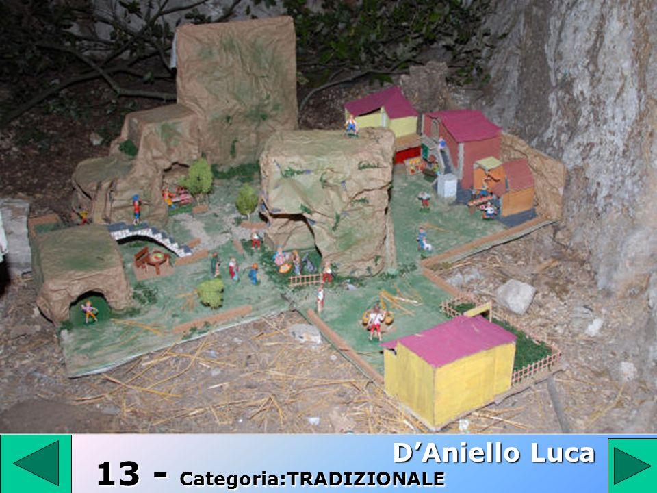 13 D'Aniello Luca 13 - Categoria:TRADIZIONALE