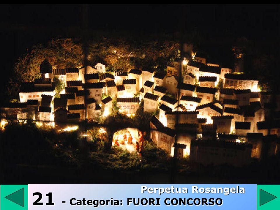21 - Categoria: FUORI CONCORSO