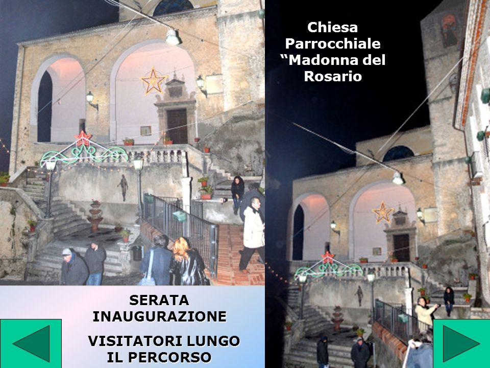 Chiesa Parrocchiale Madonna del Rosario VISITATORI LUNGO IL PERCORSO