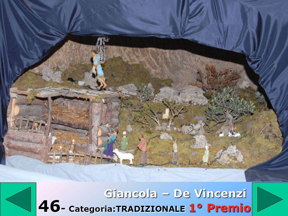 46- Categoria:TRADIZIONALE