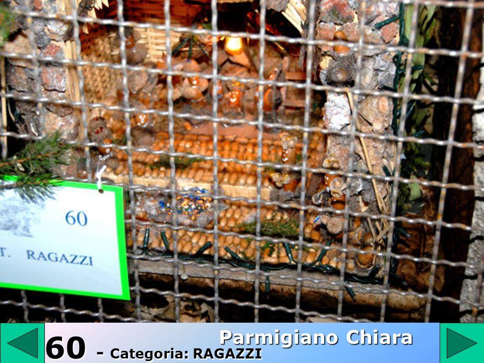 60 Parmigiano Chiara 60 - Categoria: RAGAZZI