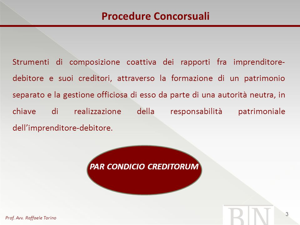 Procedure Concorsuali
