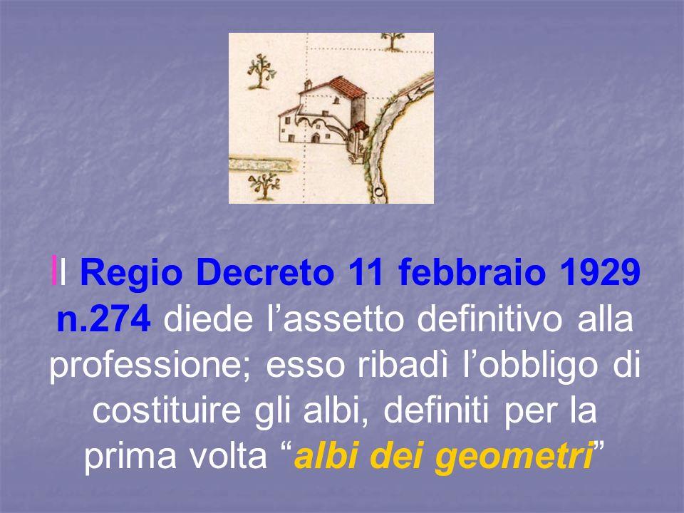 Il Regio Decreto 11 febbraio 1929 n