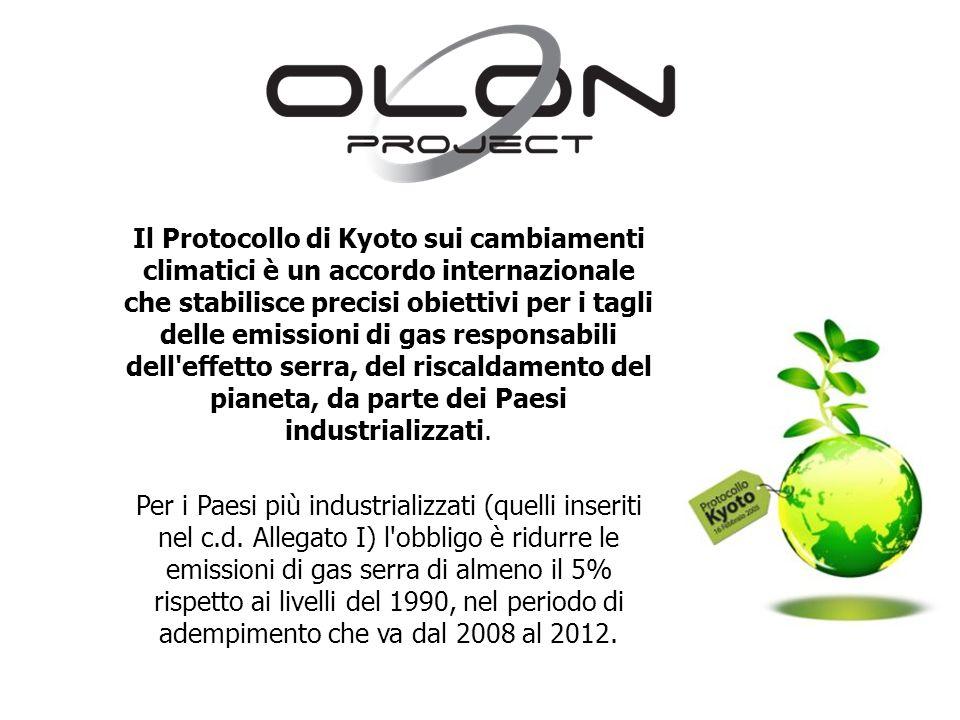 Il Protocollo di Kyoto sui cambiamenti climatici è un accordo internazionale che stabilisce precisi obiettivi per i tagli delle emissioni di gas responsabili dell effetto serra, del riscaldamento del pianeta, da parte dei Paesi industrializzati.