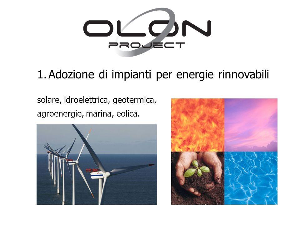 Adozione di impianti per energie rinnovabili