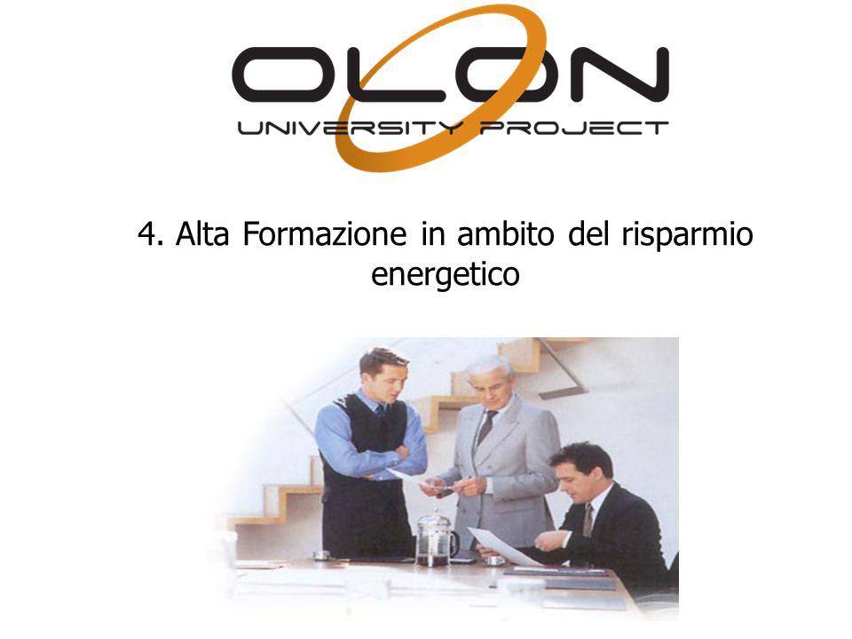 4. Alta Formazione in ambito del risparmio energetico