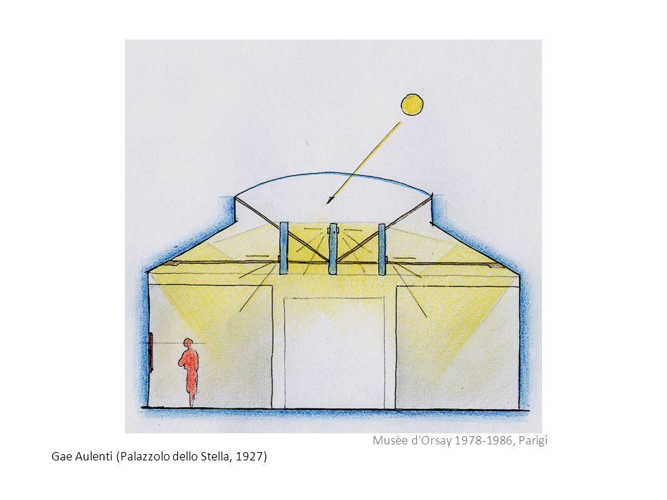 Musèe d Orsay 1978-1986, Parigi Gae Aulenti (Palazzolo dello Stella, 1927)
