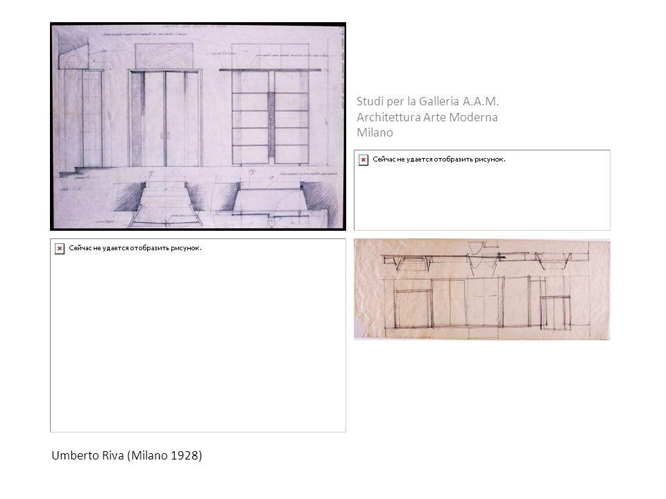 Studi per la Galleria A.A.M.