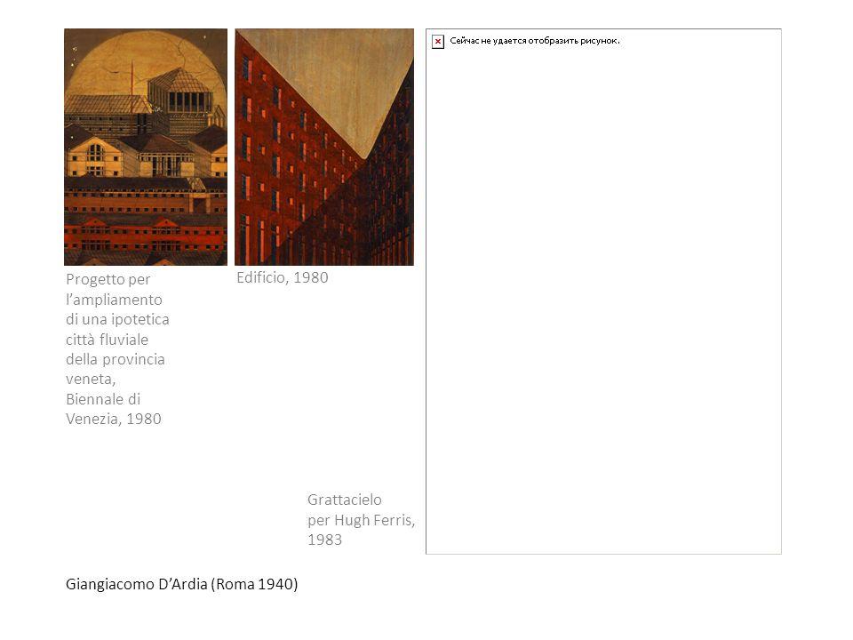 Progetto per l'ampliamento di una ipotetica città fluviale della provincia veneta, Biennale di Venezia, 1980