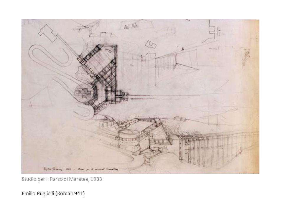 Studio per il Parco di Maratea, 1983