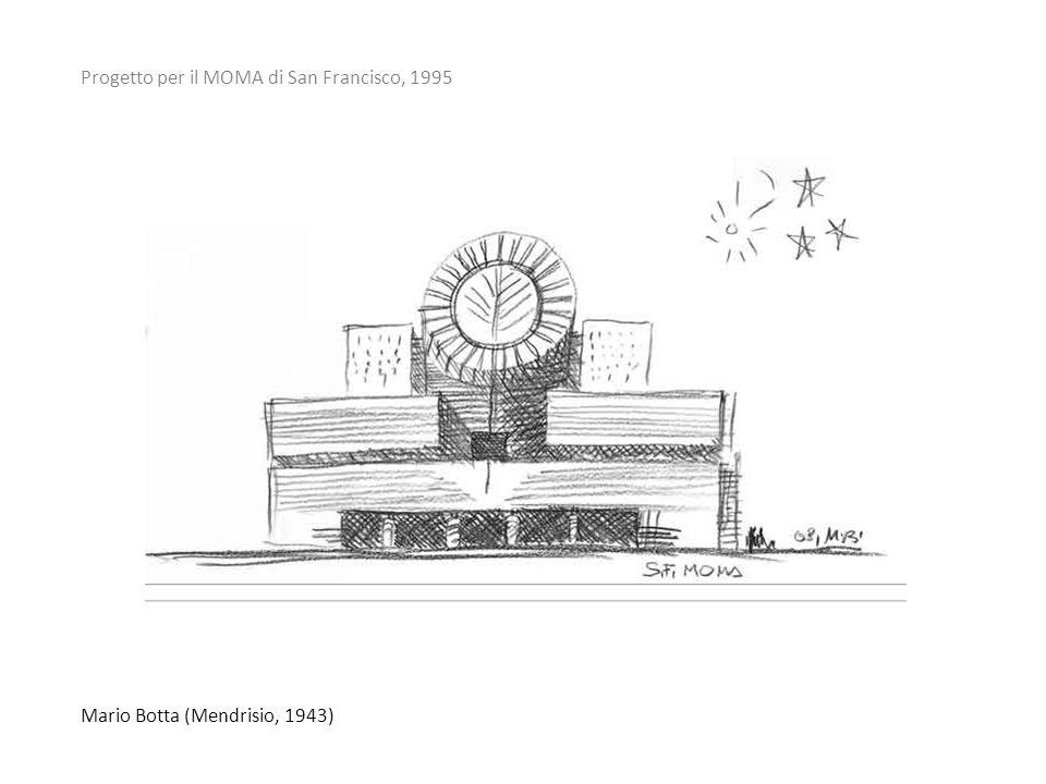Progetto per il MOMA di San Francisco, 1995