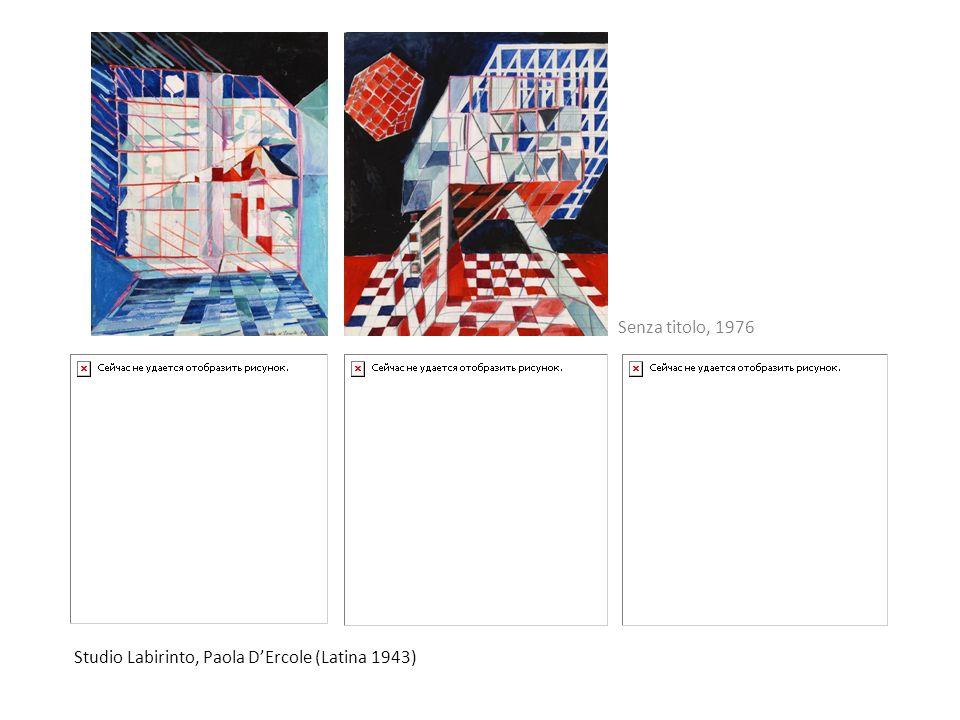 Senza titolo, 1976 Studio Labirinto, Paola D'Ercole (Latina 1943)
