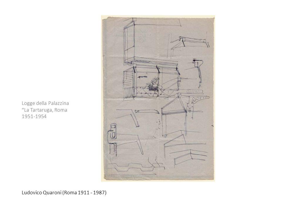 Logge della Palazzina La Tartaruga, Roma 1951-1954 Ludovico Quaroni (Roma 1911 - 1987)