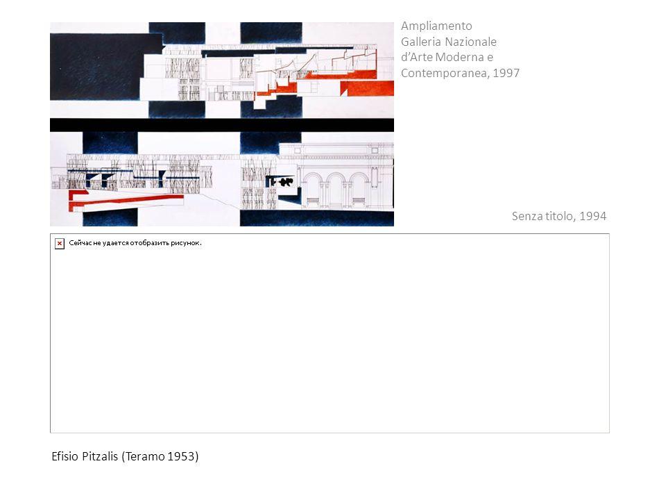 Ampliamento Galleria Nazionale d'Arte Moderna e Contemporanea, 1997.