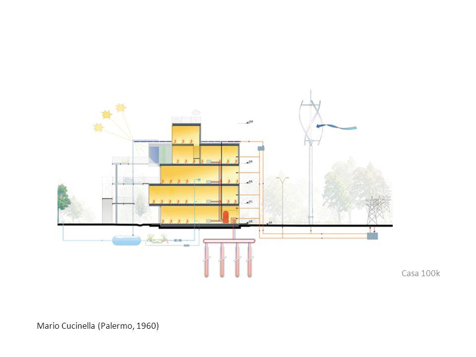 Casa 100k Mario Cucinella (Palermo, 1960)