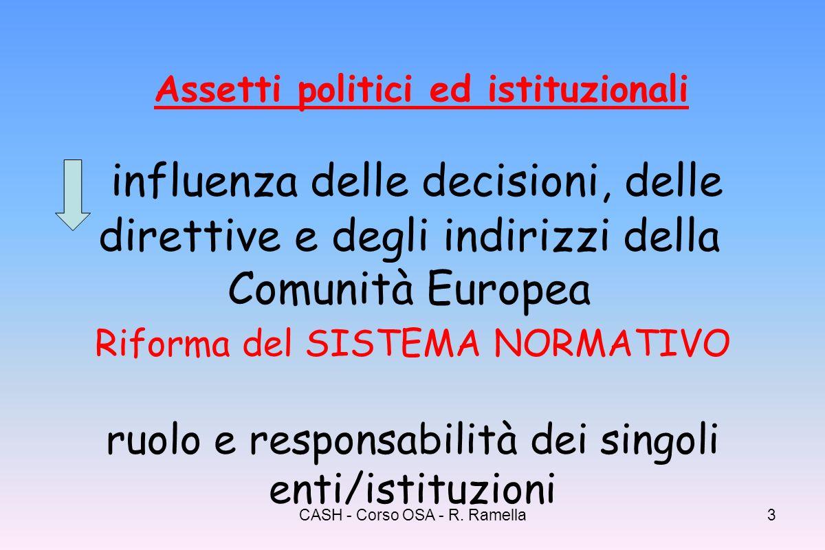 Assetti politici ed istituzionali
