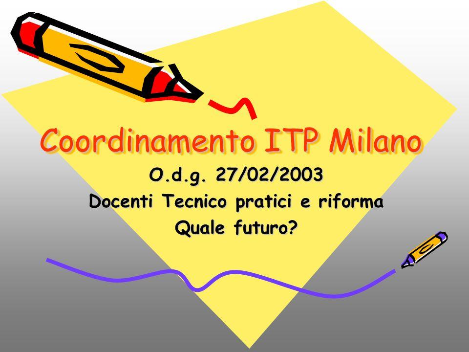 Coordinamento ITP Milano