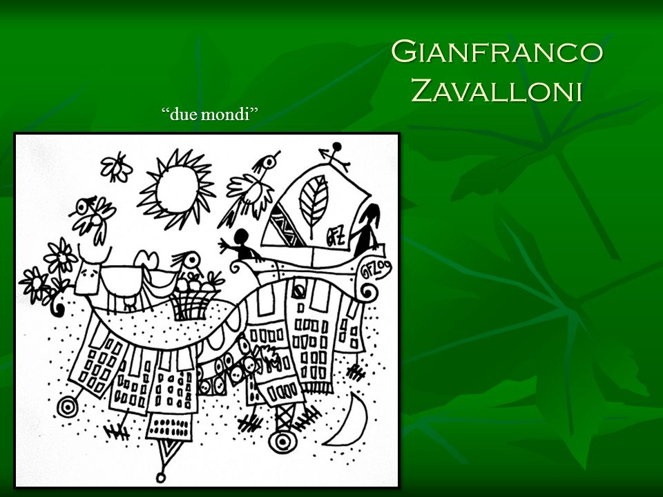 Gianfranco Zavalloni due mondi