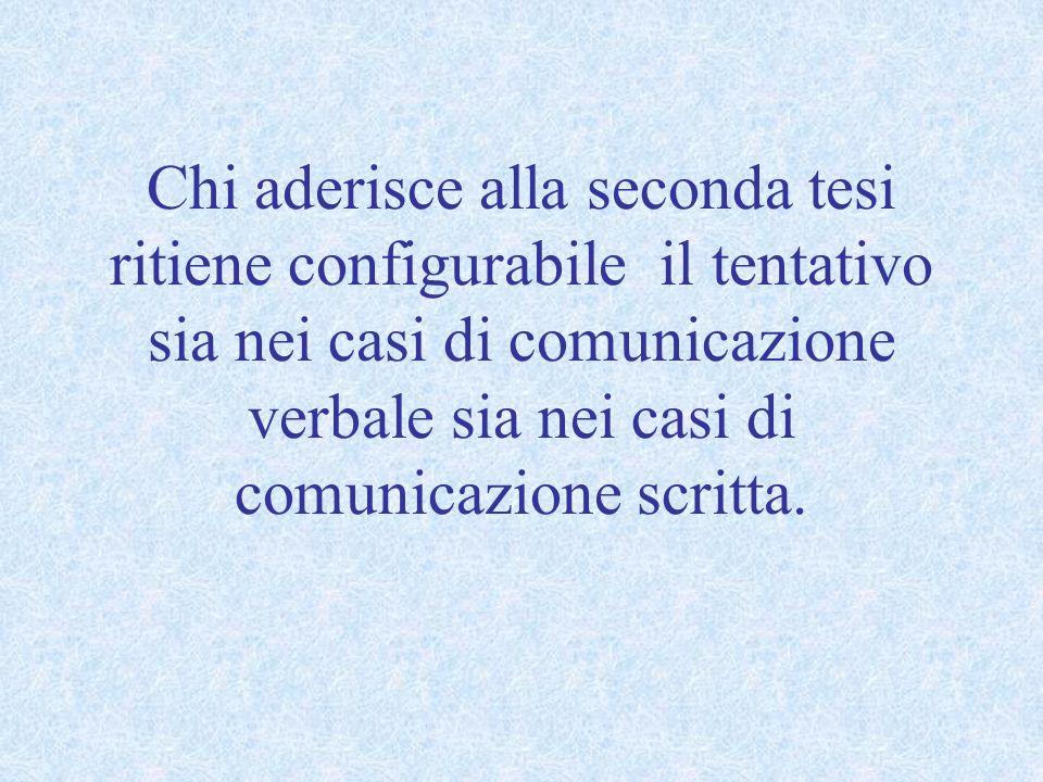 DIFFAMAZIONE AGGRAVATA ART. 595, comma 2, c.p.