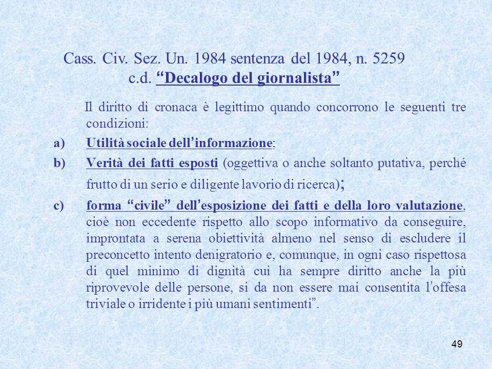 Immunità dei Parlamentari (art. 68 Costituzione)
