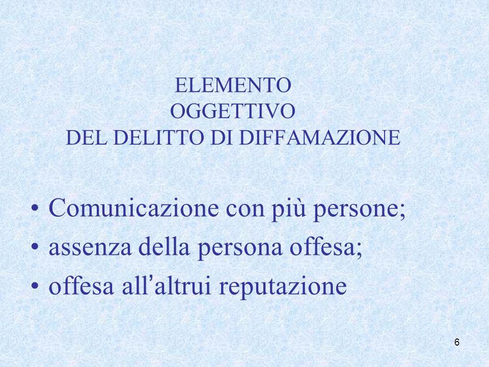 Comunicazione con più persone