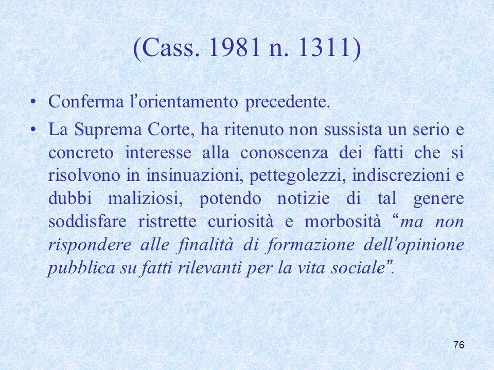 Cass. Sez. V, 26 aprile 1999