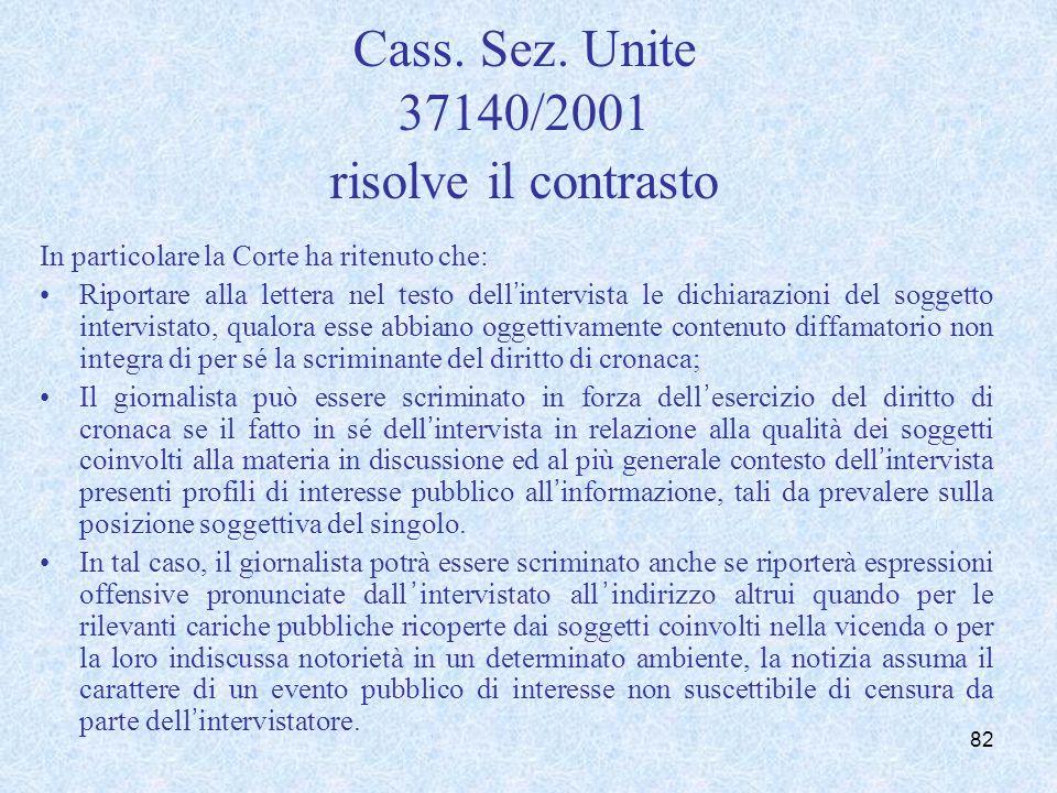 Responsabilità del direttore responsabile della rivista (art. 57)