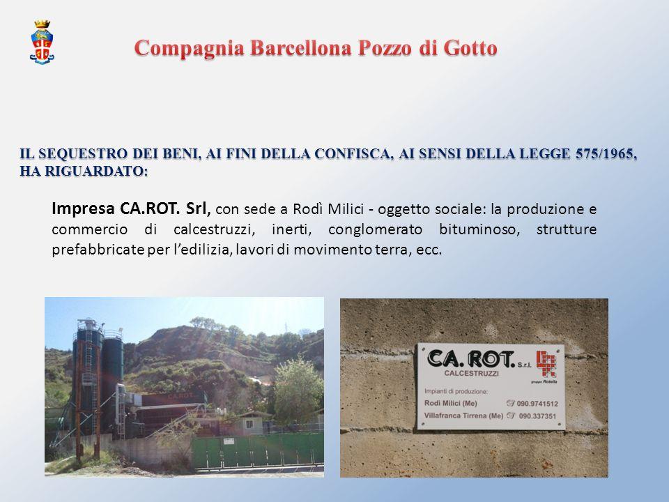 Compagnia Barcellona Pozzo di Gotto