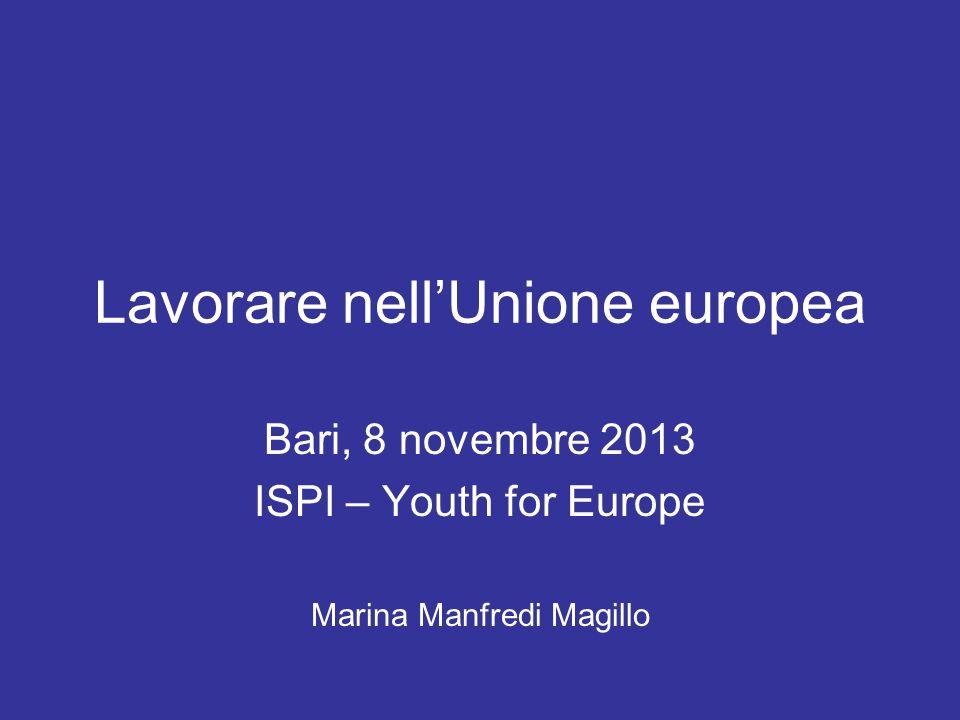 Lavorare nell unione europea ppt scaricare for Lavorare in parlamento