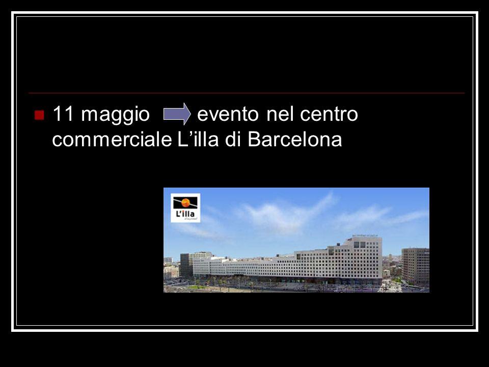 11 maggio evento nel centro commerciale L'illa di Barcelona