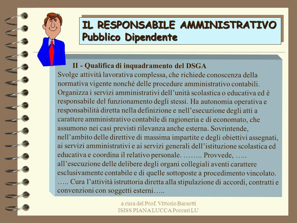 a cura del Prof. Vittorio Barsotti ISISS PIANA LUCCA Porcari LU