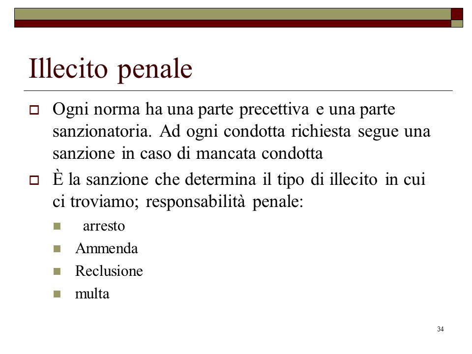 Illecito penale