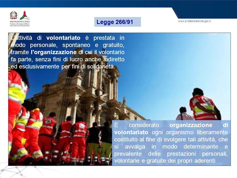 Legge 266/91