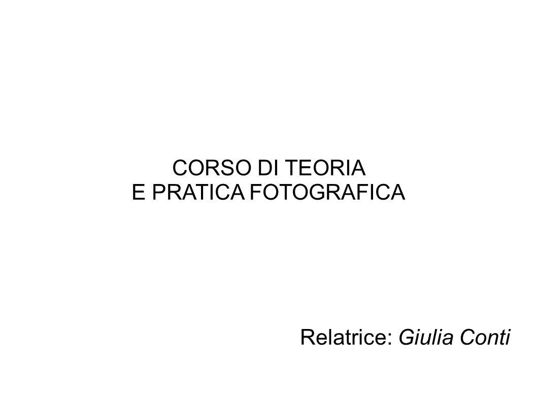 Relatrice: Giulia Conti
