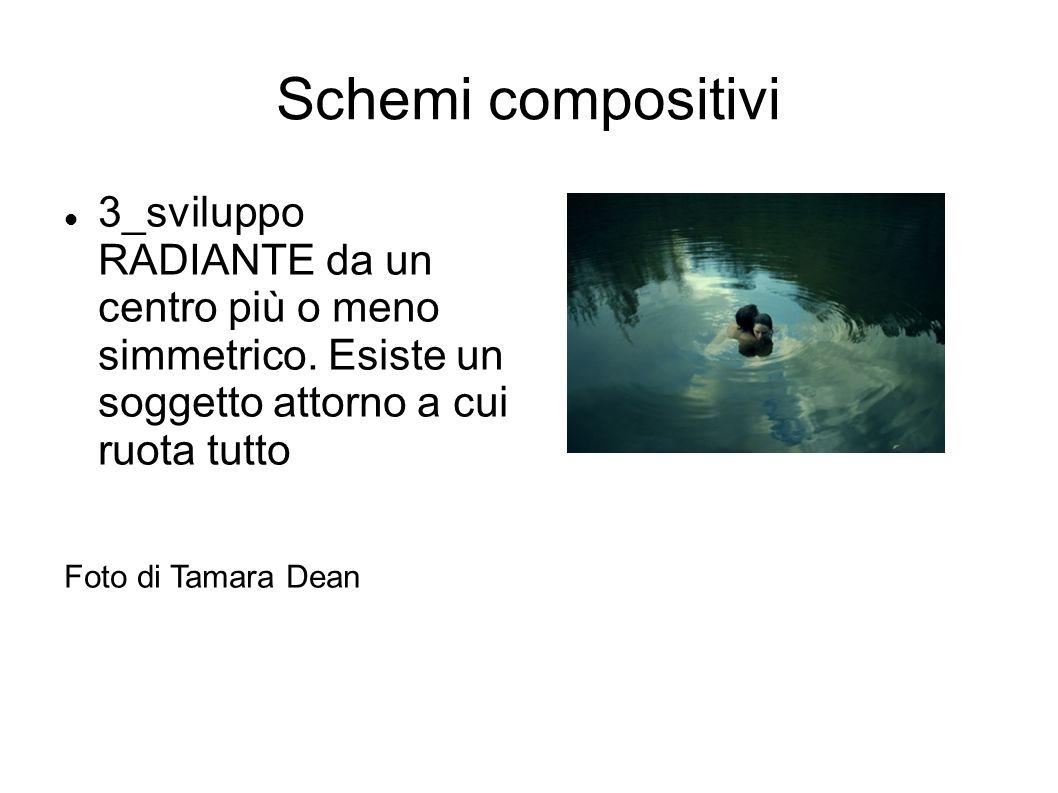 Schemi compositivi 3_sviluppo RADIANTE da un centro più o meno simmetrico. Esiste un soggetto attorno a cui ruota tutto.