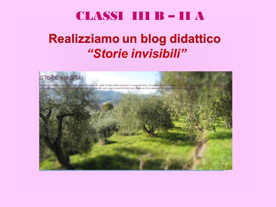 Realizziamo un blog didattico
