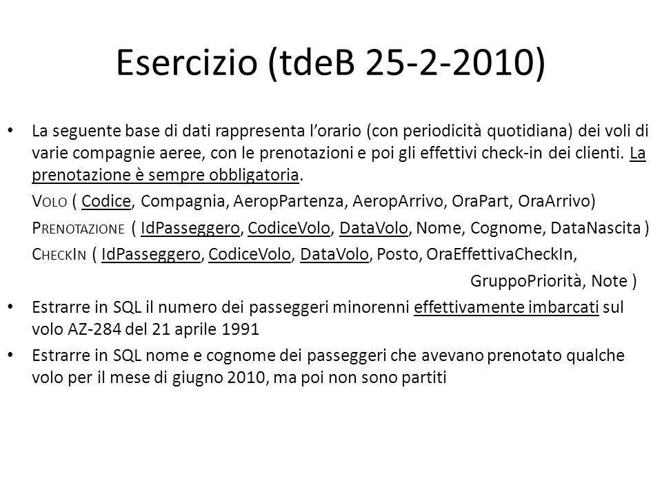 Esercizio (tdeB 25-2-2010)