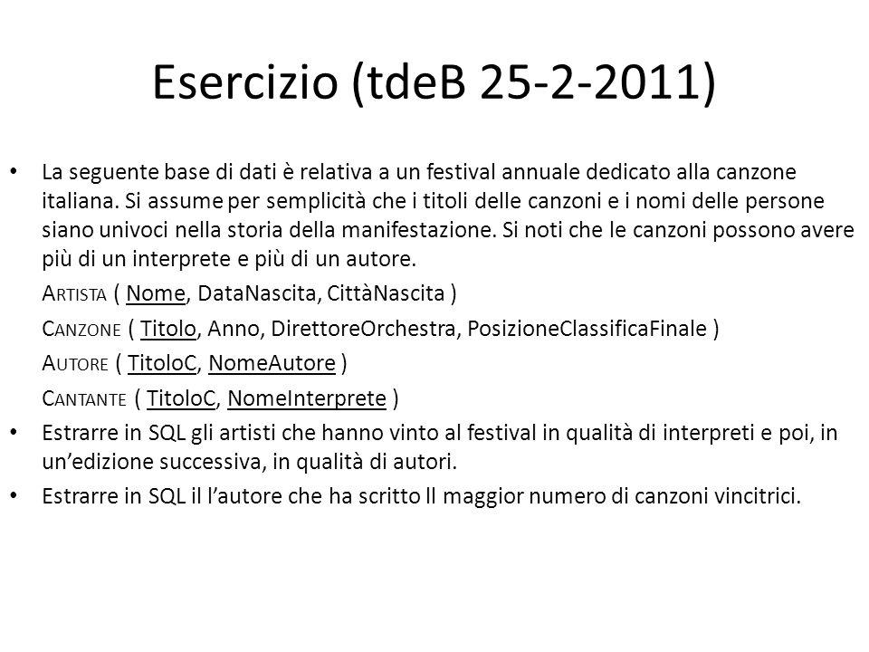 Esercizio (tdeB 25-2-2011)
