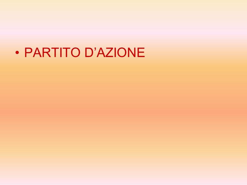 PARTITO D'AZIONE