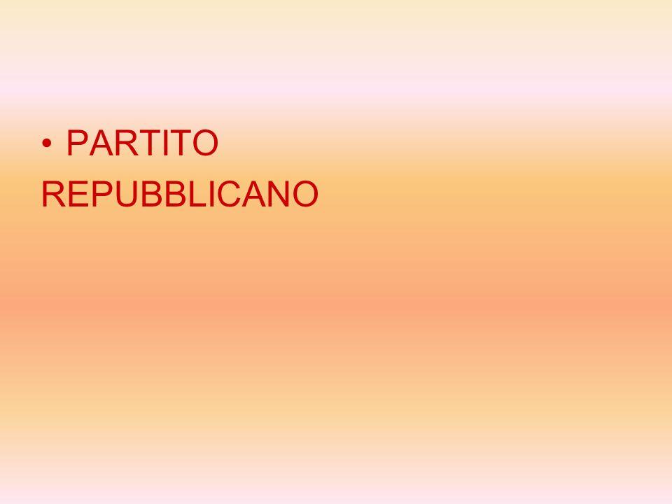 PARTITO REPUBBLICANO