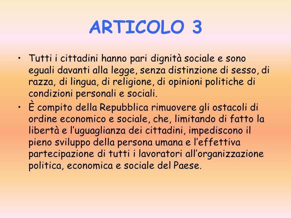 ARTICOLO 3