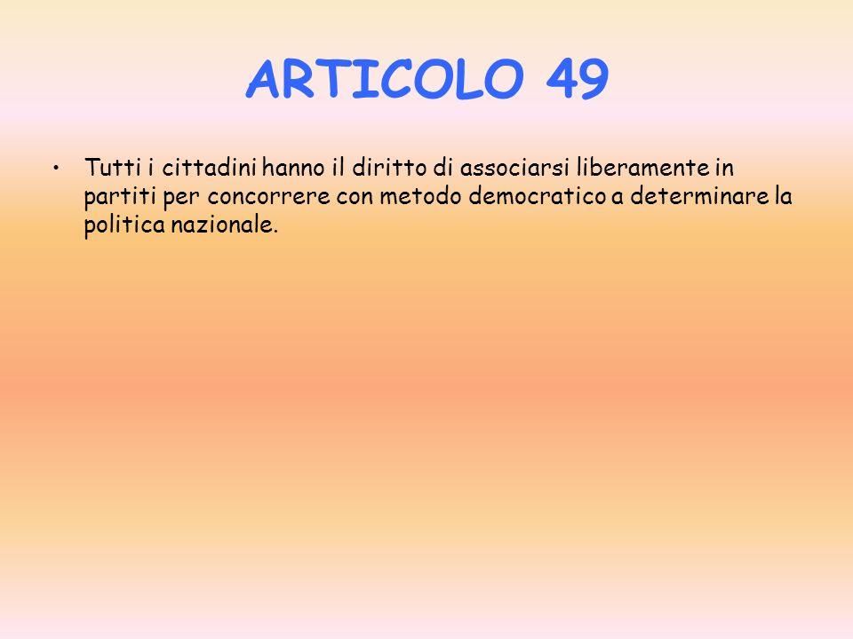ARTICOLO 49